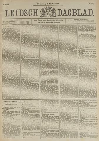Leidsch Dagblad 1896-02-04