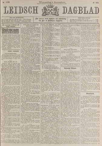 Leidsch Dagblad 1915-12-01