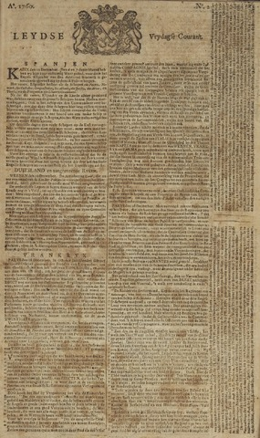 Leydse Courant 1760-01-04