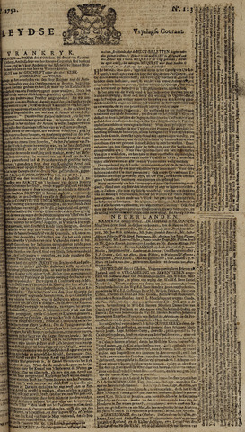 Leydse Courant 1752-10-13