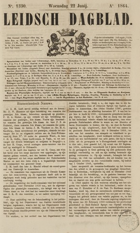 Leidsch Dagblad 1864-06-22