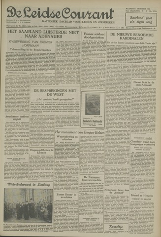 Leidse Courant 1952-12-01