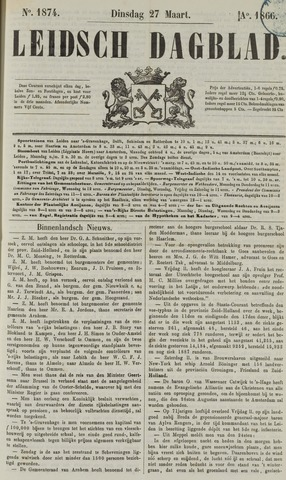 Leidsch Dagblad 1866-03-27