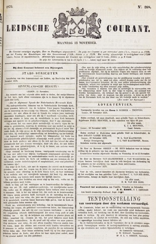 Leydse Courant 1876-11-13