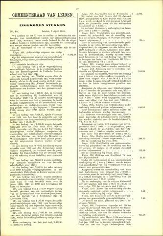 Handelingen van de Raad 1930-04-07