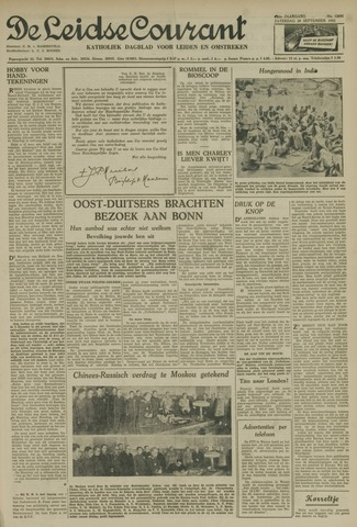 Leidse Courant 1952-09-20
