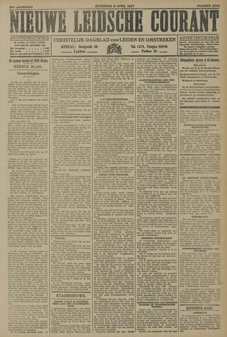 Nieuwe Leidsche Courant 1927-04-09