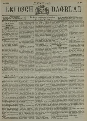 Leidsch Dagblad 1909-04-23