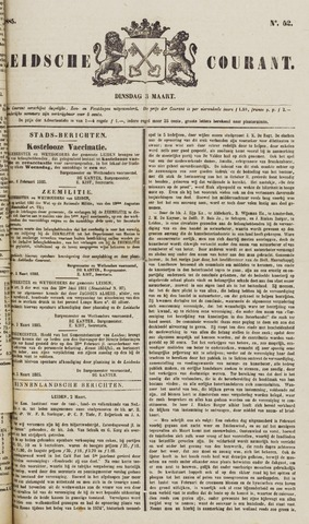 Leydse Courant 1885-03-03