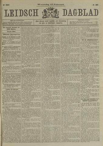 Leidsch Dagblad 1911-02-15