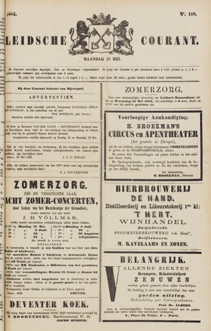 Leydse Courant 1884-05-19