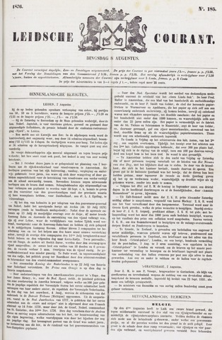 Leydse Courant 1876-08-08