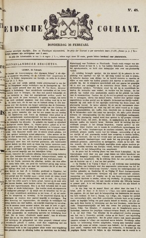 Leydse Courant 1885-02-26