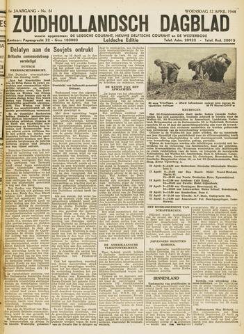 Zuidhollandsch Dagblad 1944-04-11
