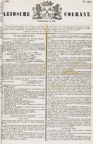 Leydse Courant 1871-05-31