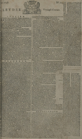 Leydse Courant 1748-10-11