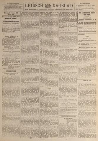 Leidsch Dagblad 1921-02-12