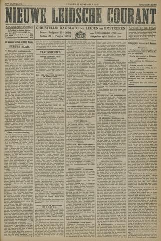 Nieuwe Leidsche Courant 1927-11-18