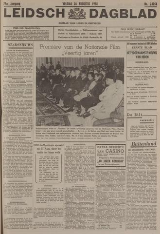 Leidsch Dagblad 1938-08-26