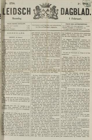 Leidsch Dagblad 1869-02-01