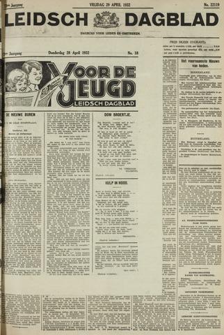 Leidsch Dagblad 1932-04-29