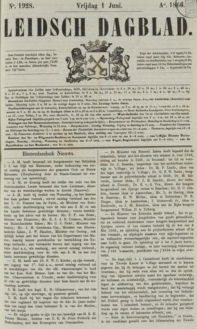 Leidsch Dagblad 1866-06-01