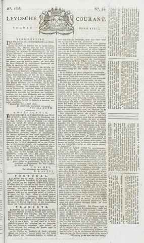 Leydse Courant 1828-04-11