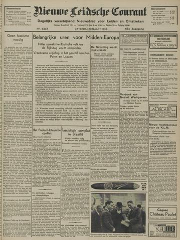 Nieuwe Leidsche Courant 1938-03-19