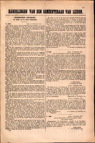 Handelingen van de Raad 1872-12-14