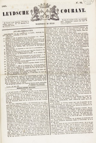 Leydse Courant 1865-07-26