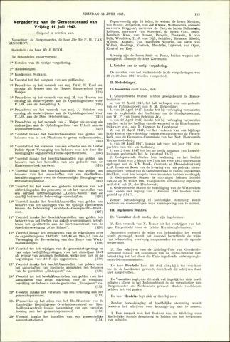 Handelingen van de Raad 1947-07-11