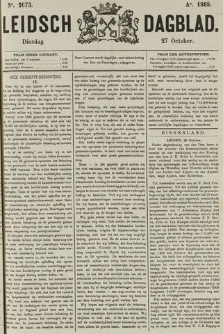Leidsch Dagblad 1868-10-27