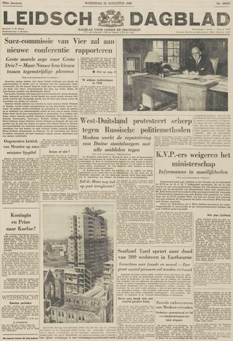 Leidsch Dagblad 1956-08-22