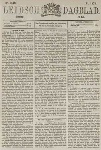 Leidsch Dagblad 1878-07-09