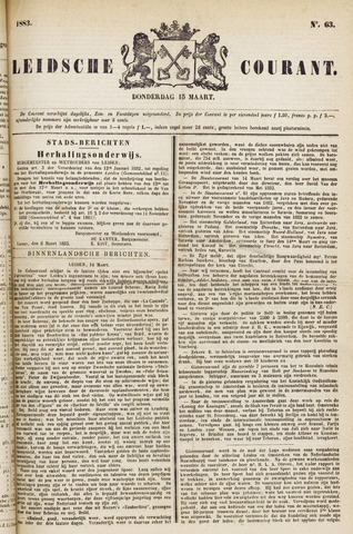 Leydse Courant 1883-03-15
