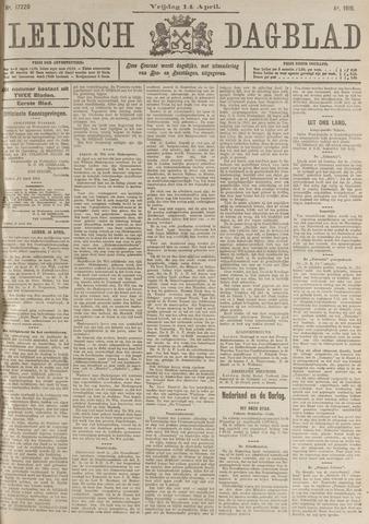 Leidsch Dagblad 1916-04-14