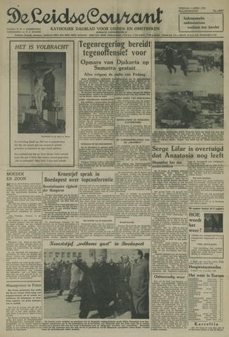 Leidse Courant 1958-04-04