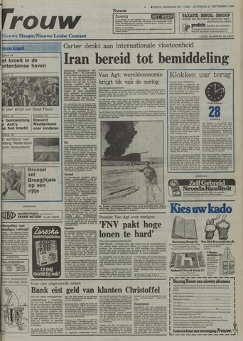 Nieuwe Leidsche Courant 1980-09-27