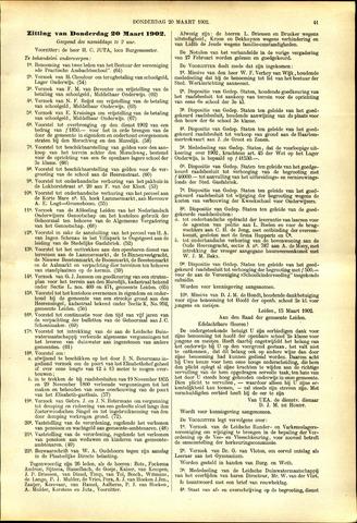 Handelingen van de Raad 1902-03-20