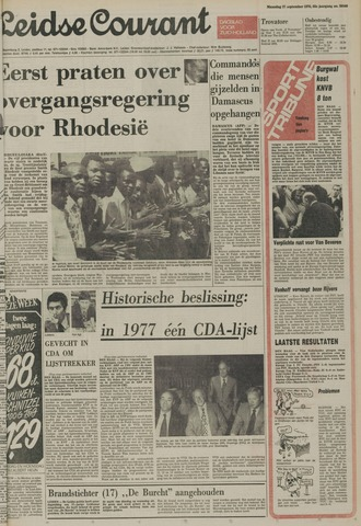 Leidse Courant 1976-09-27