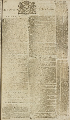 Leydse Courant 1769-01-20