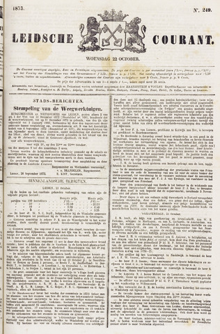 Leydse Courant 1873-10-22