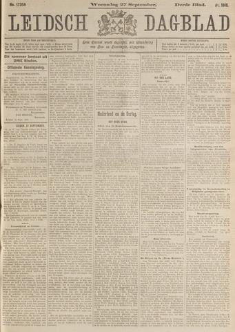 Leidsch Dagblad 1916-09-27