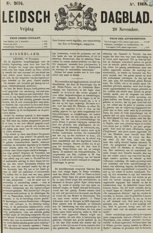 Leidsch Dagblad 1868-11-20