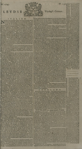 Leydse Courant 1745-11-19