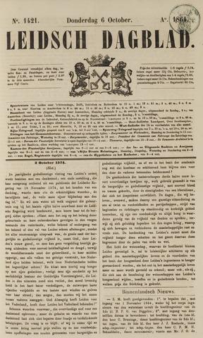 Leidsch Dagblad 1864-10-06