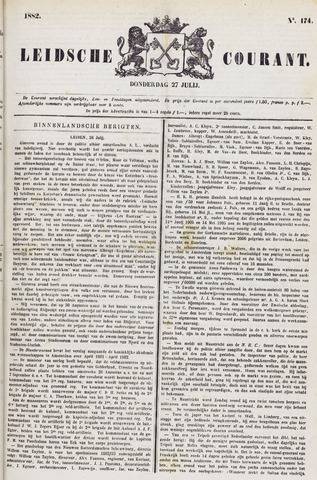 Leydse Courant 1882-07-27