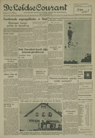 Leidse Courant 1959-08-18