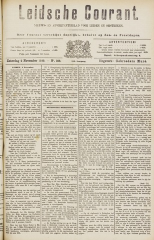 Leydse Courant 1889-11-02