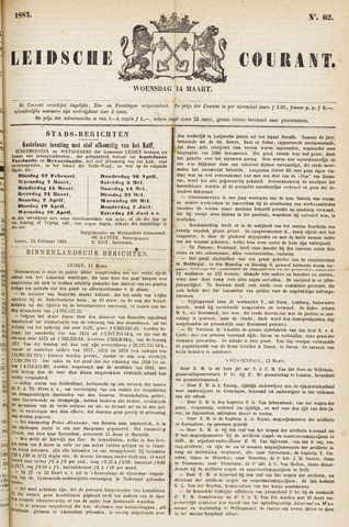 Leydse Courant 1883-03-14